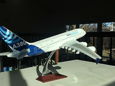Airbus 380 house color model airplane solid resin HUGE 1/144 20 inche 1/100 A380