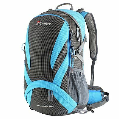 Hiking Backpack Traveling Rucksack 20l 40l School Bags for Camping Cycling Blue