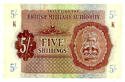Great Britain ... P-M4 ... 5 Shillings ... ND(1943) ... *F-VF*