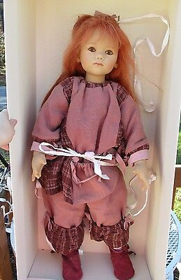 """Beautiful 2003 Marcy  Doll By Annette Himstedt kinder W Boxs & Certificate 32"""""""