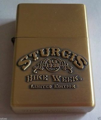 Sturgis rally Lighter bike week Limited edtion (NEW)