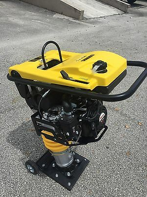 CORMAC, jumping jack tamper  tamping rammer RM 75 @ 6.5 HP gasoline engine