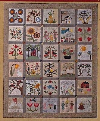 Sweet & Simple - gorgeous applique & pieced quilt PATTERN - Timeless Traditions