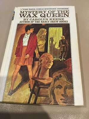 Mystery of the Wax Queen ~ Dana Girls ~ CAROLYN KEENE Hardcover Nancy Drew