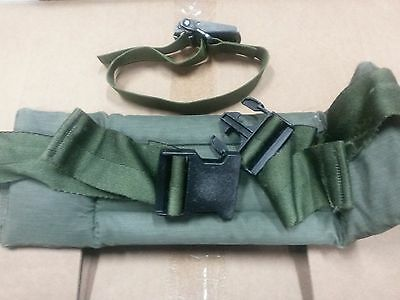Us Military Od Green Alice Waist Kidney Belt Pad Lc-2 With Tensioner Attachment