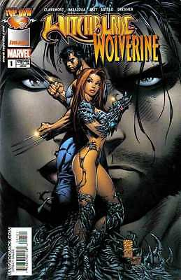 Witchblade Wolverine #1 in Near Mint + condition. FREE bag/board