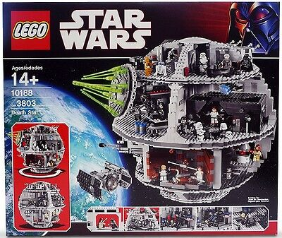 Lego - 10188 - Star Wars - Death Star - Neuf Et Scellé - New And Sealed