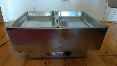 Stainless Steel Bain Marie 2 Tray