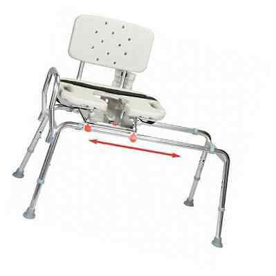 Transfer Bench with Cut-Out Molded Swivel Seat / Back Size: Regular