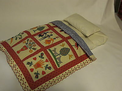American Girl Addy Quilt mattress pillow bedding no bed NEW RETIRED for dolls