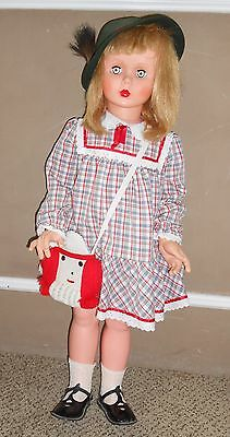 """Vintage 1960's Patti Playpal style doll 35"""" tall"""