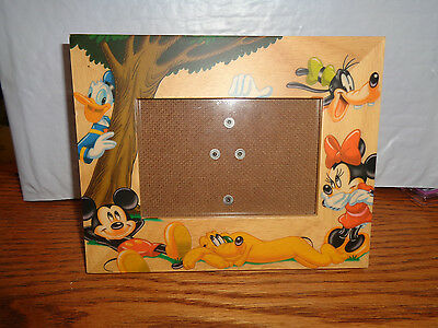 """Disney - Mickey Mouse & Friends -Table Top - Picture / Photo Frame  (3 x 4.5"""")"""