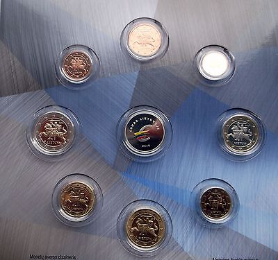 Lithuanian coins NEW set 2015 PROOF issue!