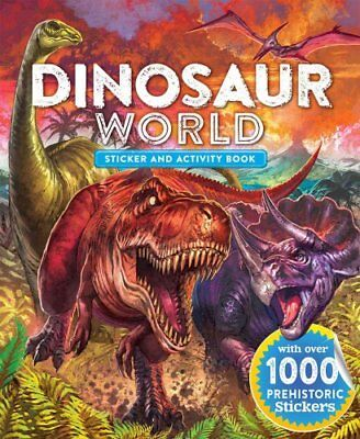 Dinosaur World Sticker and Activity Book by Little Bee Books 9781499801729