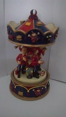 Decorative Ornament Musical MARCHING BAND Carousel Nursery Decor Baby Gift