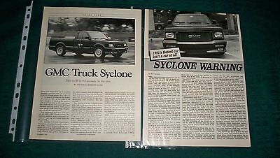 1991 Gmc Syclone   Pickup Magazine Articles