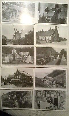 Sark In The Past Series.by  P. Webb- 10 x  Reproduction Postcards 1-10 v/s