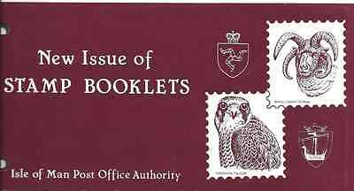 ISLE of MAN 1980 Stamp Booklet stamps Presentation Pack