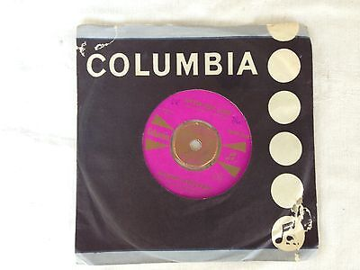 "Collectable - Vintage Columbia Vynal Record 45 Rpm ""little Boy Lost"""