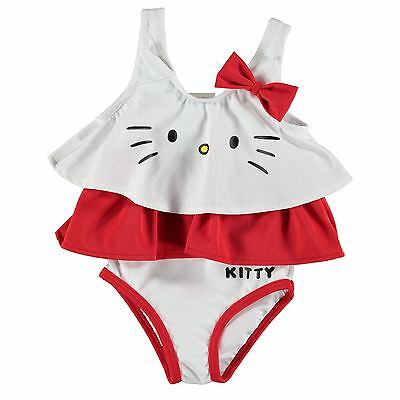 Baby Girl Official Hello Kitty Swimsuit Swimming Costume