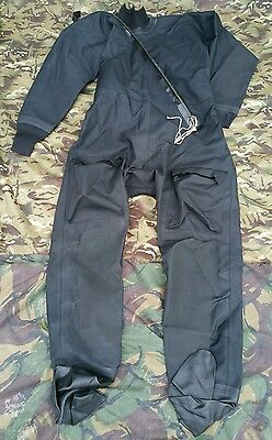 Black Immersion Suit XL Extra Large Aircrew Flyers DrySuit Dry UKSF SAS RAF RN