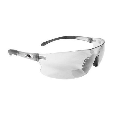 Radians Bifocal Safety Glasses Rad Sequel 3.0 Clear Reading Readers Magnifying