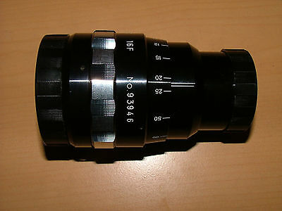 EIKI 16-F ANAMORPHIC LENS FOR 16mm PROJECTOR IN PRESTINE CONDITION