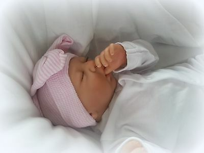 FOREVERBABIES~ Baby Reborn Doll Girl Newborn Lifelike Vinyl Handmade Dolls Cheap