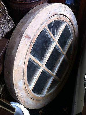 Antique Reclaimed Round Openable Church Window