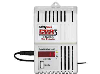 Electronic Gas Radon Detector Home Air Quality Testers White LED Digital New
