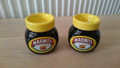 Marmite Set of 2 Egg Cups Mint and Unused