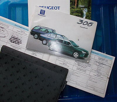 Peugeot 306 Owners Wallet, Manual, Service Book