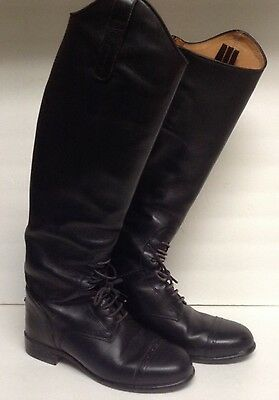 Ariat Crowne Pro Field Boots Size 5.5 Short Height Reg Calf Pull On 53005