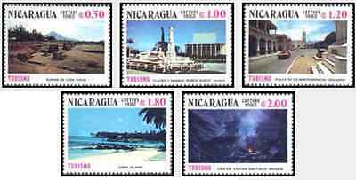 Timbres Nicaragua 1208/12 ** lot 17749