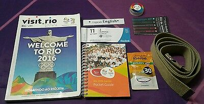 Rio 2016 Volunteer Olympic & Paralympic Gift Set Collectable RARE & UNIQUE