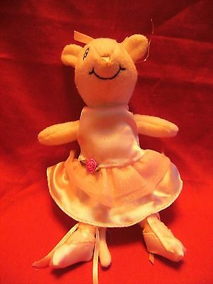 "Angelina Ballerina Soft Doll 8"" approx"
