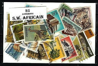 Sud Ouest Africain - South West Africa 25 timbres différents