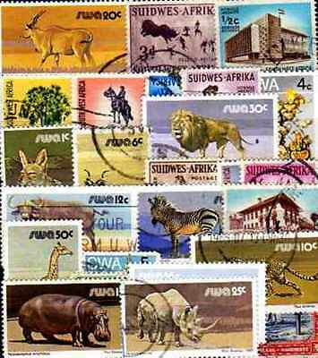 Sud Ouest Africain - South West Africa 50 timbres différents