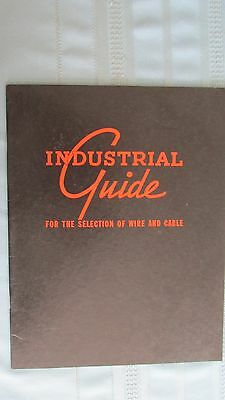 1937 Anaconda Wire & Cable Company Industrial Guide For Wire & Cable