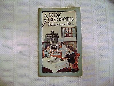 Vintage Circa 1900's Recipe Booklet Range Co. Indiana Cookbook Advertising