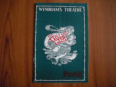 Wyndham's Theatre, London - The Italian Girl - 1968