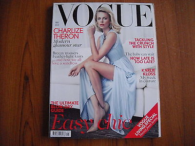 Vogue Magazine - May 2012 - Charlize Theron