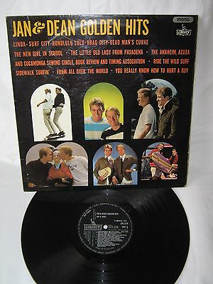 Jan And Dean-Golden Hits LP 1965 Super Original Copy Surf Rock