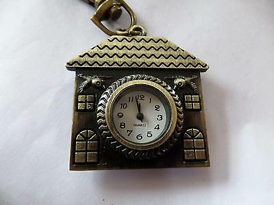 House Keyring Watch  Great House Warming Gift  (M1  NEW BATTERY BEFORE POSTING