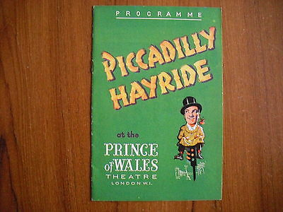 Prince Of Wales Theatre, London - Piccadilly Hayride - 1947