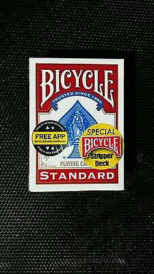 Bicycle Factory Sealed Stripper Deck Red