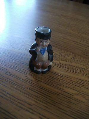 Antique Miniature Toby Mug Old Gentleman with Spectacles