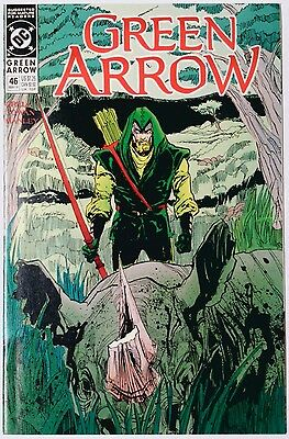 Green Arrow #46 (May 1991, DC) NM