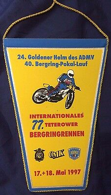 Speedway Pennant Bergringstadt - Teterow - Internationals 17 18 May 1997 (rare)