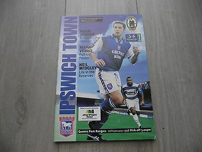 1997-98  Ipswich v  QPR - Division One